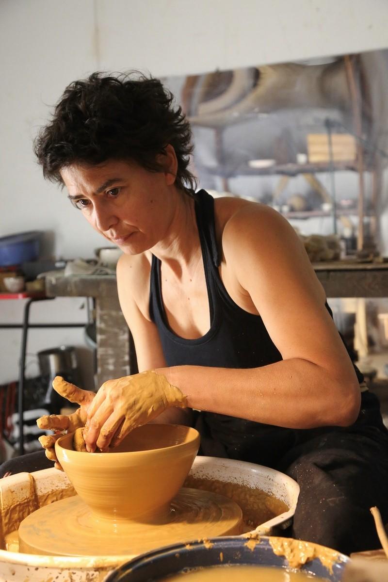 Céramique contemporaine tournage sophie comberousse